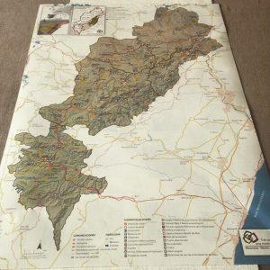 Mapa Matarranya Morella Terra Alta