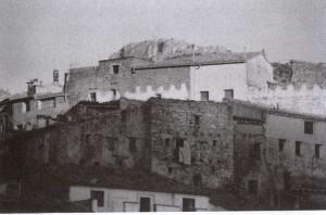 Beceite Almenas del antiguo castillo