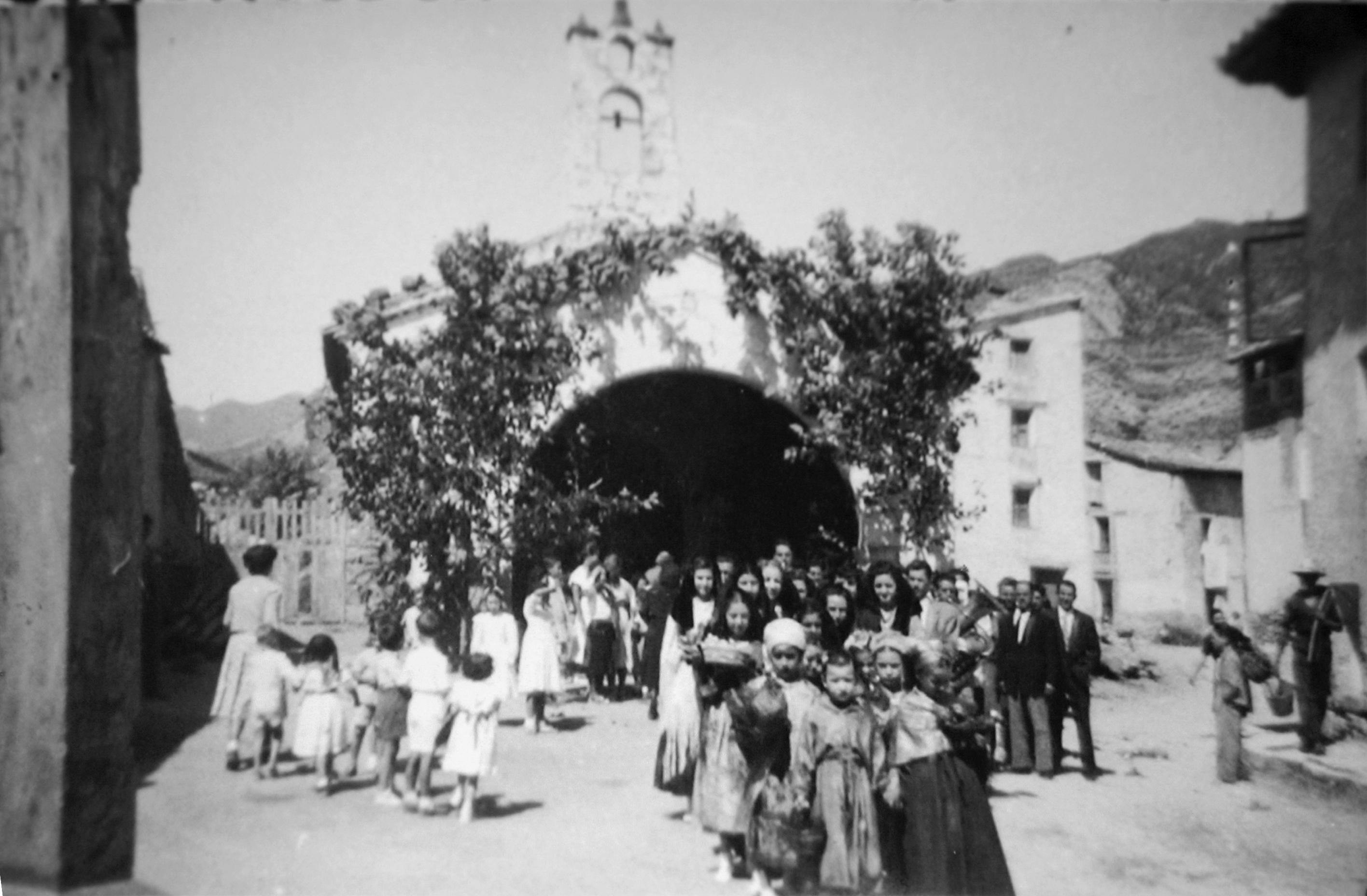 Foto procesión de Santa  Ana Beceite