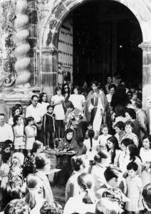Procesión de San Bartolome Beceite Teruel
