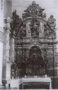 Retablo del rosario antiguo de Beceite Teruel