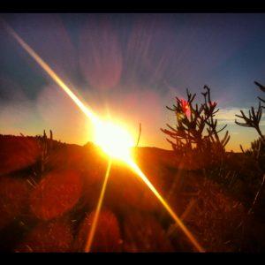 Puesta de Sol en La Fresneda-Matarranya-Spain