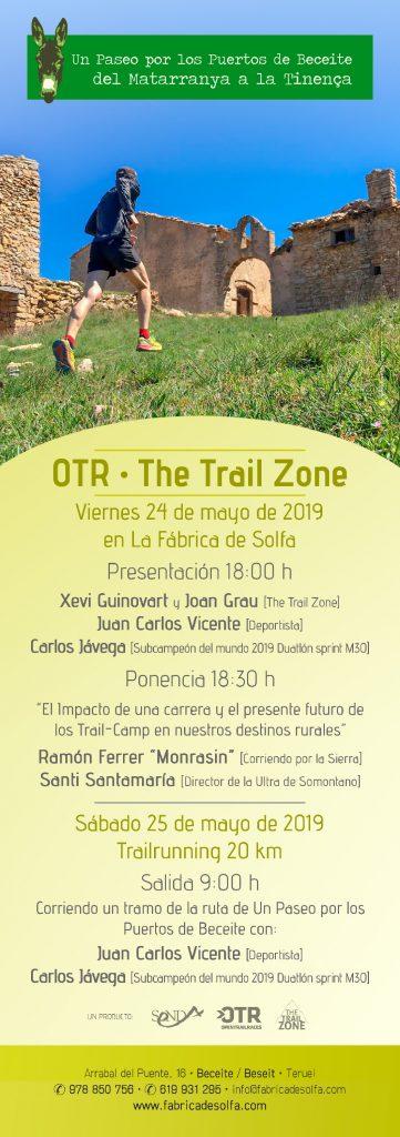 Trailrunning - Un Paseo por los Puertos de Beceite - Cartel